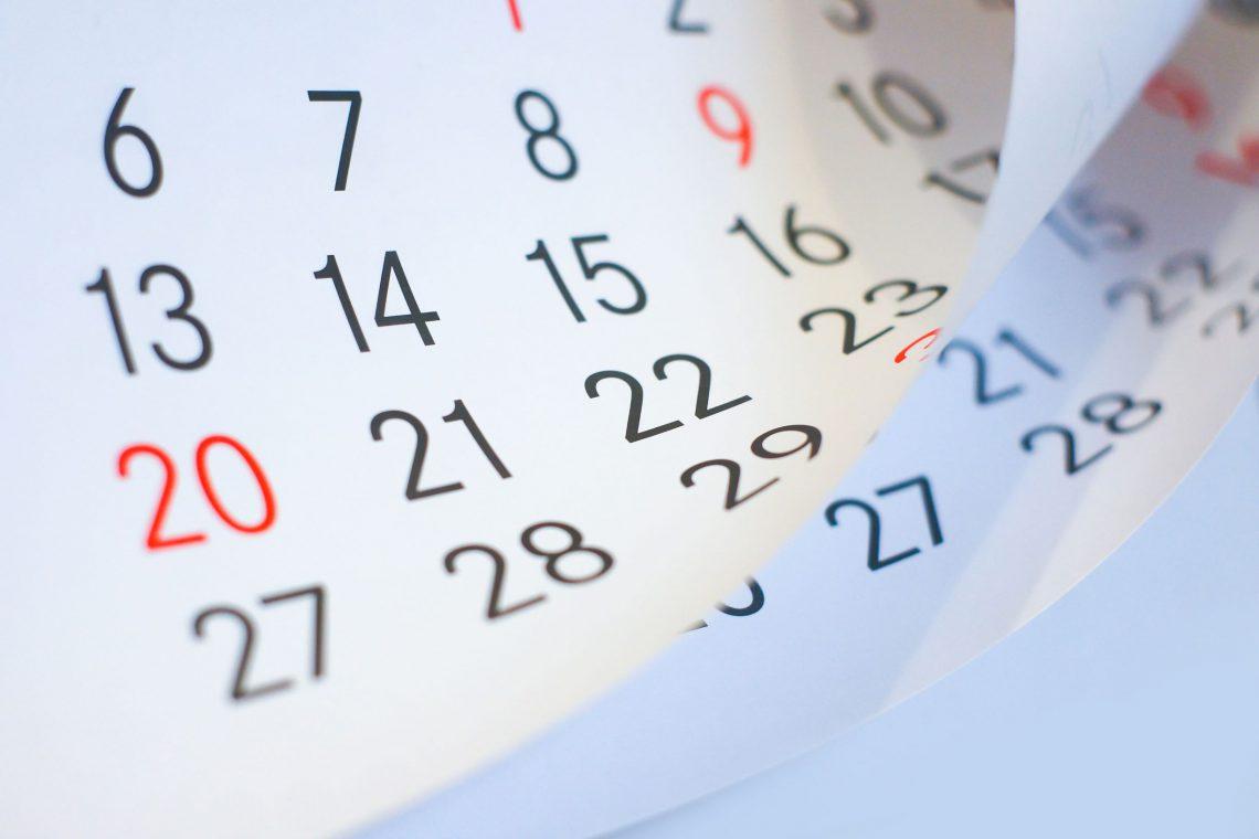 calendar flipping